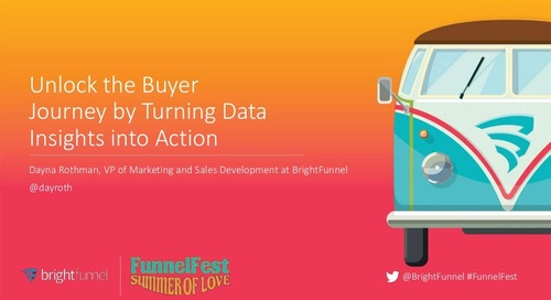 Unlock the Buyer Journey by Turning Data Insights Into Action