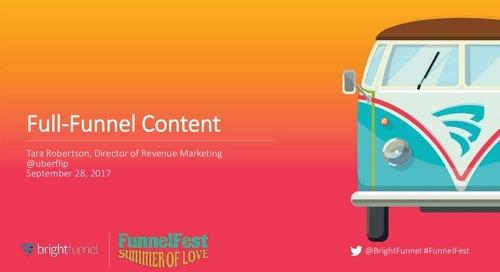 Full-Funnel Content