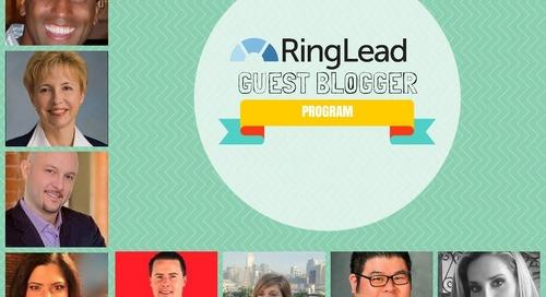 RingLead Guest Blogger Program