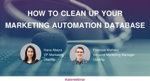 How to Clean Up Your Marketing Automation Database