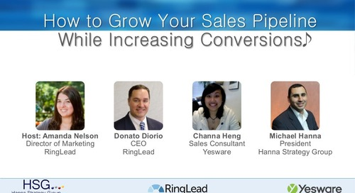 How to Grow Your Sales Pipeline While Increasing Conversions