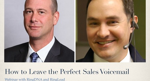 How to Leave the Perfect Sales Voicemail