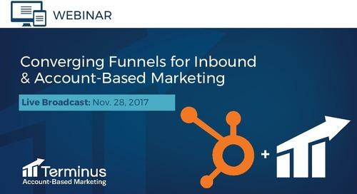 [Deck] HubSpot + Terminus = Inbound + Account-Based Marketing
