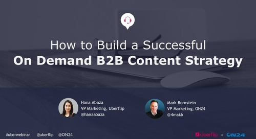 How to Build a Successful On-Demand B2B Content Strategy