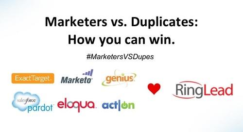 [Webinar] Marketers vs. Duplicates: How You Can Win