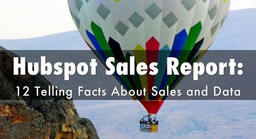 Hubspot Sales Report: 12 Telling Facts About Sales and Data