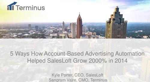 Sirius Decisions 2015 Case Study With SalesLoft & Terminus