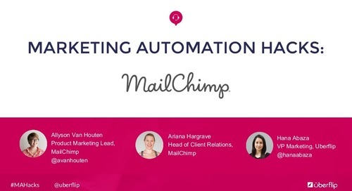 Marketing Automation Hacks: MailChimp