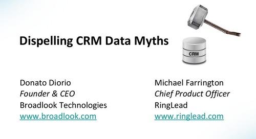 CRM Data Myths