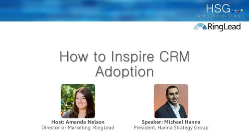 How to Inspire CRM Adoption