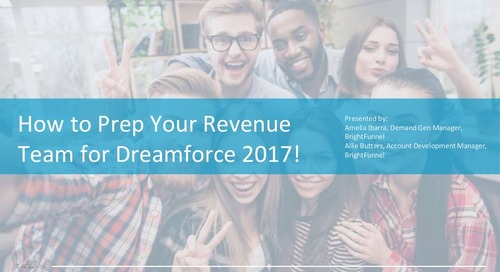 How to Prep Your Revenue Team for Dreamforce