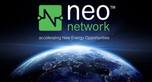 NEO Network Accelerates Renewable Energy Transactions, Connects Buyers with Developers and Technology Providers