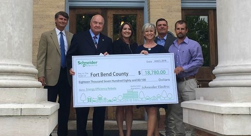 Fort Bend County Celebrates Comprehensive Energy Efficiency Project
