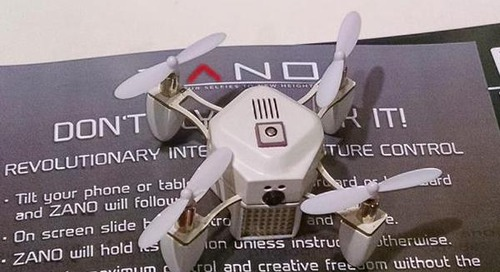 Lantronix Wi-Fi chip powers mini drone relay