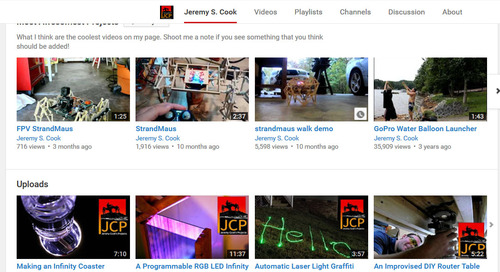 Show off your MakerPro projects with YouTube
