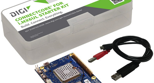 electronica: Digi starter kit enables rapid prototyping for IoT devices