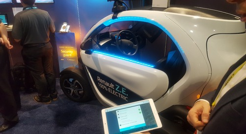 CES 2017: ARM gets an assist in Renault's open-source electric vehicle, Twizy