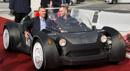 3D printing car parts is a potential boon to auto industry