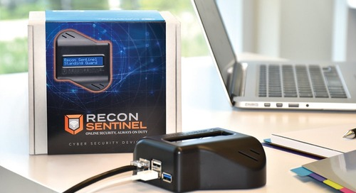 Recon Sentinel Seeks to Protect Your Home Office from Attacks at the Router