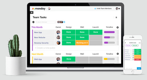 Monday.com Offers Another Team Management Software Option for Small Businesses