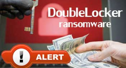 CERT issues DoubleLocker ransomware warning