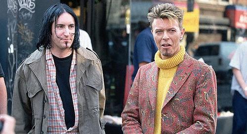 "David Bowie & Trent Reznor ""Hurt"" Together…"