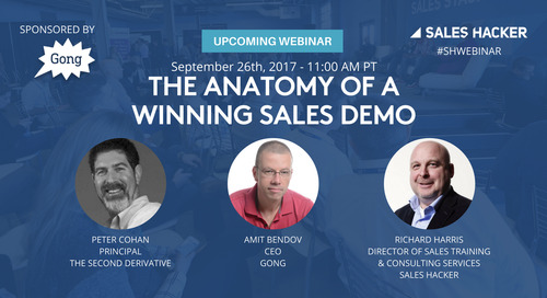 The Anatomy of a Winning Sales Demo