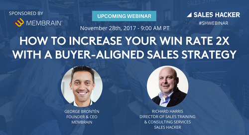 How to Increase Your Win Rate 2X with a Buyer-Aligned Sales Strategy