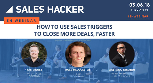 How to Use Sales Triggers to Close More Deals, Faster