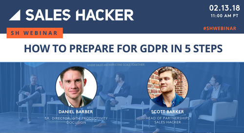 How to Prepare for GDPR in 5 Steps