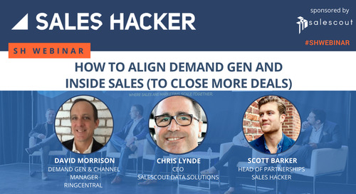 How to Align Demand Gen and Inside Sales (to Close More Deals)