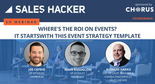 Where's The ROI on Events? It Starts With This Event Strategy Template