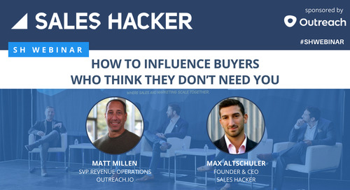 How to Influence Buyers Who Think They Don't Need You