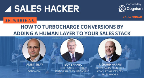 How to Turbocharge Conversions by Adding a Human Layer to Your Sales Stack