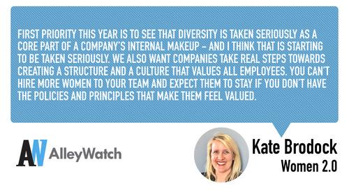Women in NYC Tech: Kate Brodock of Women 2.0