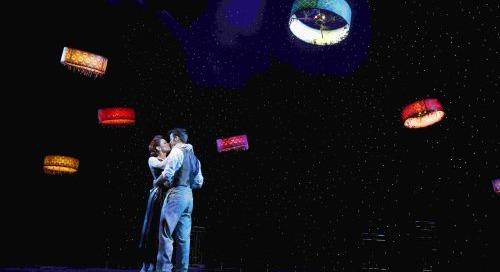 Indoor drones make history on Broadway