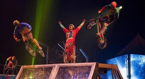VOLTA Has BMX Jumps and a Trials Rider Up in the Air