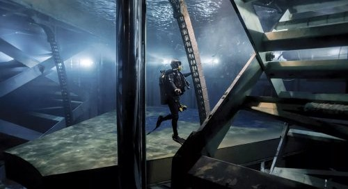 """What It's Like to Be a Safety Diver in """"O"""""""