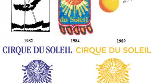 Cirque du Soleil Rebrands – New Logos!