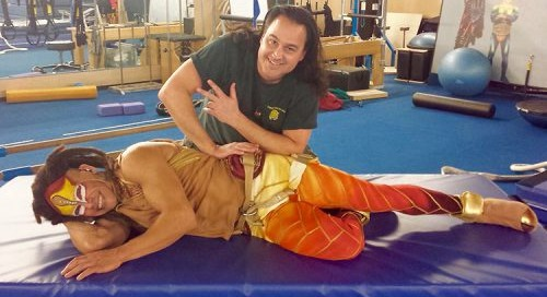 All in a Day's Massage Work at Cirque du Soleil