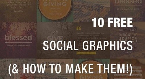10 FREE Social Graphics (and How to Make Them!)