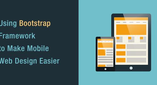 Using Bootstrap Framework to Make Mobile Web Design Easier