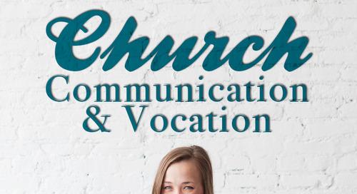 Church Communication & Vocation