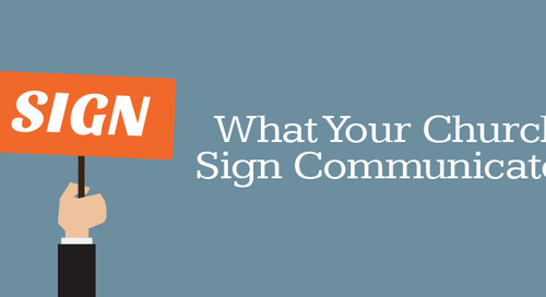 What Your Church Sign Communicates