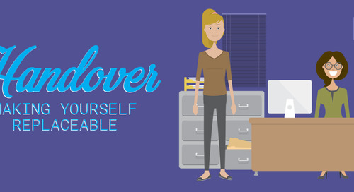 Handover—Making Yourself Replaceable