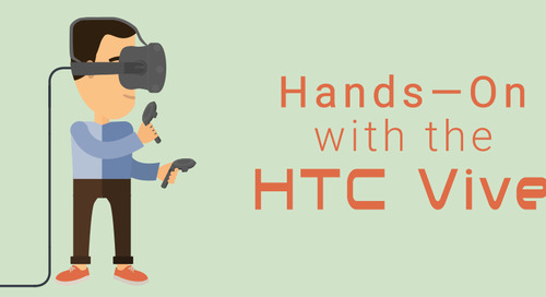 Hands-on with the HTC Vive