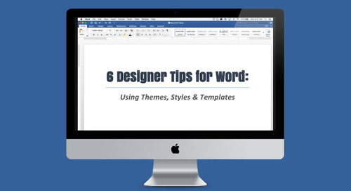 6 Designer Tips for Word: Using Themes, Styles & Templates