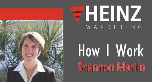 """How I Work"":  Shannon Martin, Director of Marketing at Podbean & Director of Communications at Aging Wisely @AgingWisely #HowIWork"
