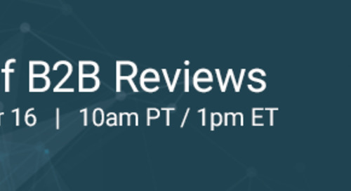 Are Your B2B Reviews Authentic?  It Matters to Your Buyers.  Here's How.