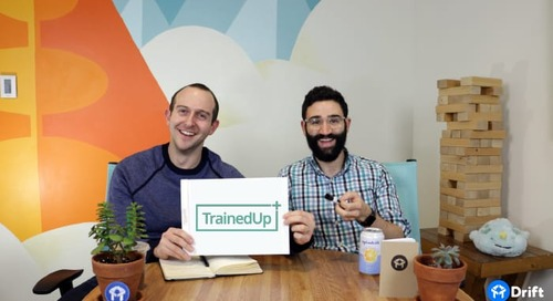 How TrainedUp Booked 80 Demos in a Month (Without Using Forms)
